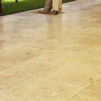 ProSeal 898 Sealer on Travertine