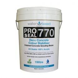 Water Based Concrete Sealer and Binder