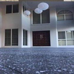 Flake flooring resurfacing