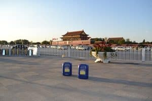 Tian An Men Square is Protected with ProtectGuard HD penetrating sealer