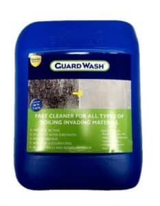 Guard Wash floor and wall cleaner