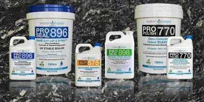 Concrete and natural stone sealers