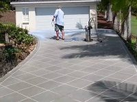 Sealing Concrete Resurfacing with Pro Seal