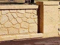 sealing limestone wall