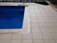 Pro Seal 896 concrete sealer on pool paving