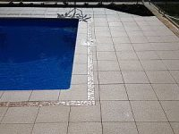Pro Seal 896 concrete sealer on pool paving